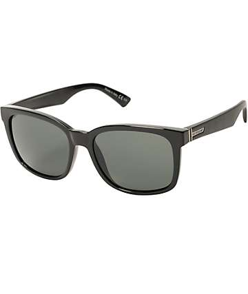 Von Zipper Howl Black Gloss & Vintage Grey Sunglasses