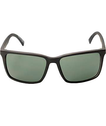 Von Zipper Lesmore Black Satin Sunglasses