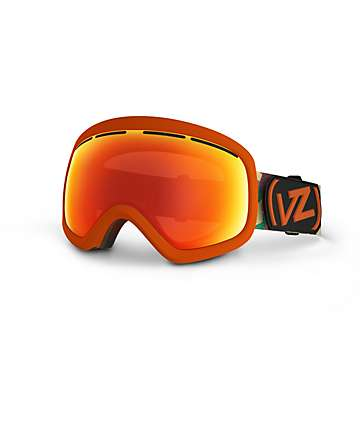 Von Zipper Skylab Orange & Kamo Snowboard Goggle