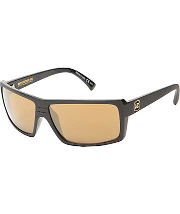 Von Zipper Snark Battlestation Black & Gold Sunglasses