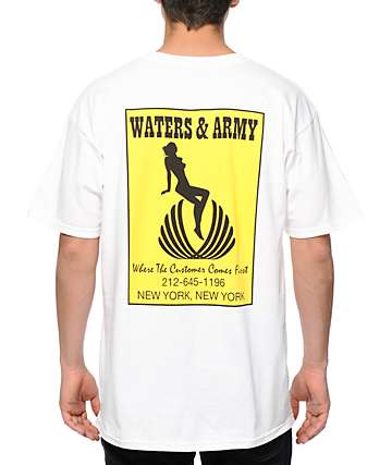 Waters & Army Customer T-Shirt