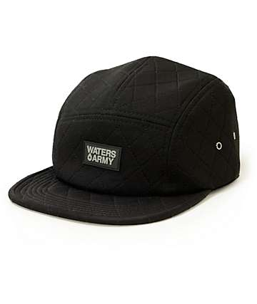 Waters & Army Lindy Neoprene 5 Panel Hat