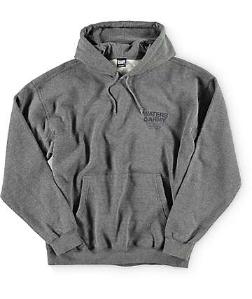 Waters & Army Military Grade Grey Hoodie