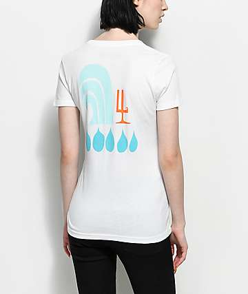Waves For Water Andy Davis White T-Shirt