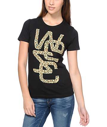 WeSC Spotted Overlay Black T-Shirt