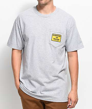 Weather MTN Morning Classic White Pocket T-Shirt
