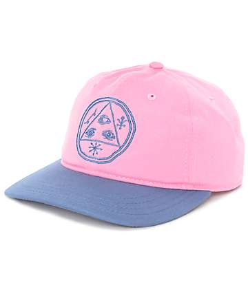 Welcome Basic Witch Pink & Slate Baseball Hat