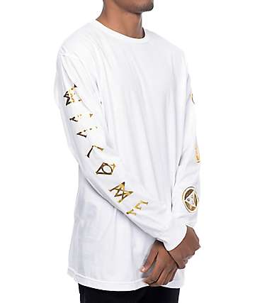 Welcome Binary White Long Sleeve T-Shirt