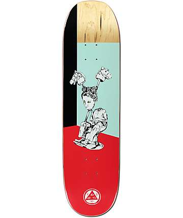 "Welcome Hedo Rick On Moontrimmer 8.5"" Skateboard Deck"