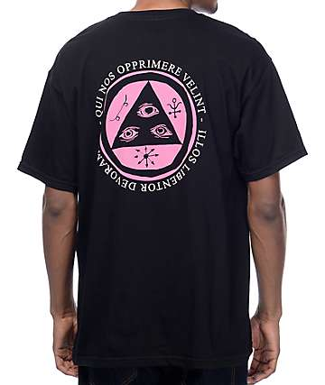 Welcome Latin Talisman Black T-Shirt