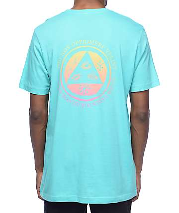 Welcome Latin Talisman Teal T-Shirt