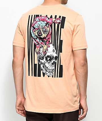 Welcome Loris Peach T-Shirt