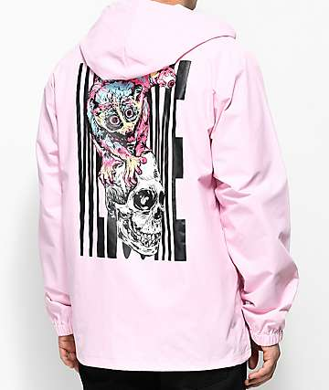 Welcome Loris Pink Coaches Jacket