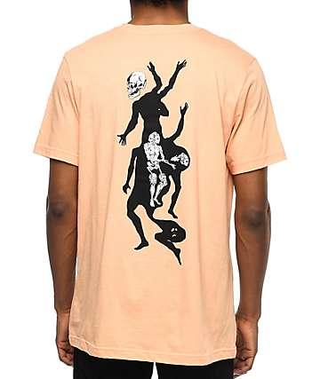 Welcome Magician camiseta en color melocotón