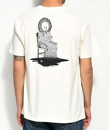 Welcome Morphine Bone White T-Shirt