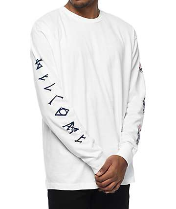 Welcome Sapien White Long Sleeve T-Shirt