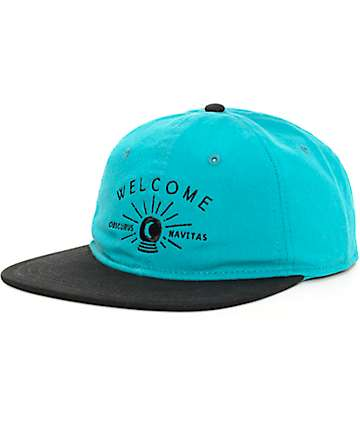 Welcome Skateboards Dark Energy Strapback Hat