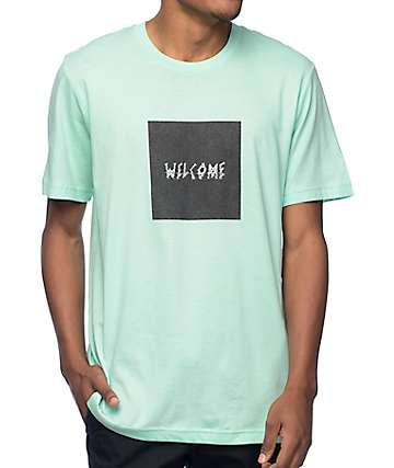 Welcome Skateboards Screen Shot Mint T-Shirt