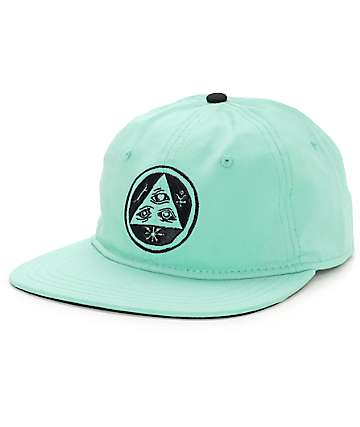Welcome Skateboards Talisman Unstructured Mint Strapback Hat