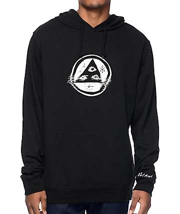 Welcome Skateboards Tracking Black Hoodie