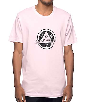 Welcome Skateboards Tracking Pink T-Shirt