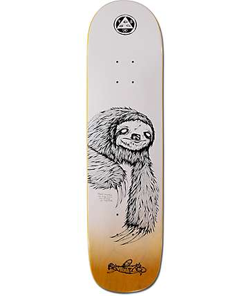 "Welcome Sloth On Bunyip 8.0"" Skateboard Deck"