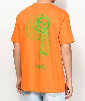 Welcome Sloth Orange T-Shirt