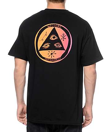 Welcome Talisman Gradient Black T-Shirt