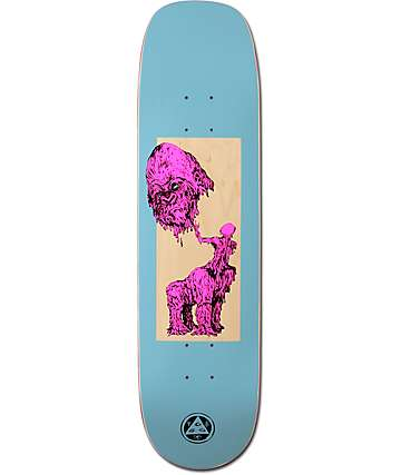 "Welcome Wax Gorilla On Phoenix 8.0"" Skateboard Deck"