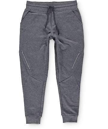 Well Versed Zipper Fleece Jogger Pants