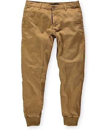 Well Versed pantalones joggers de tela asargada