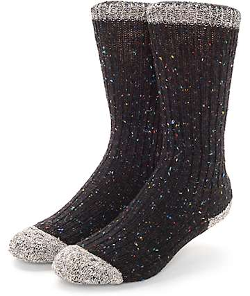 Wigwam Fireside Black Socks