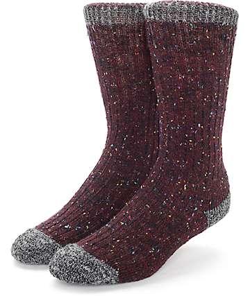 Wigwam Fireside Burgundy Socks