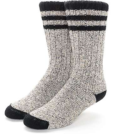 Wigwam Pine Lodge Natural & Black Socks