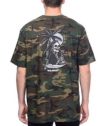 Wildroot Chilled Out Camo T-Shirt
