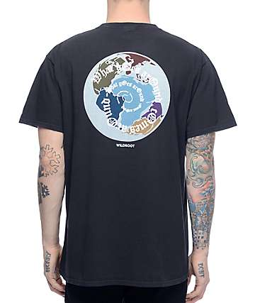 Wildroot Pangea Black T-Shirt