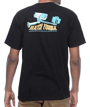 Wildroot Surveillance camiseta negra