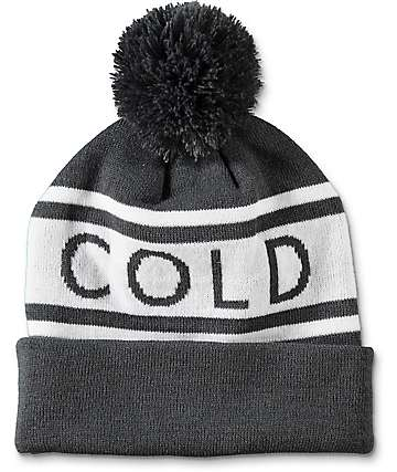 Wish You Were Northwest Cold Pom Beanie