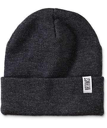 Wish You Were Northwest Grey Fold Beanie