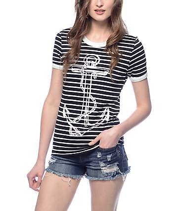 Workshop Anchor Puff Ringer T-Shirt