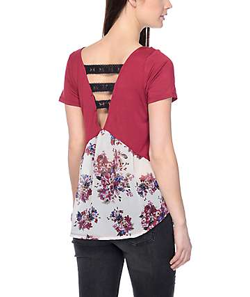 Workshop Aria Floral Bunches Red Top