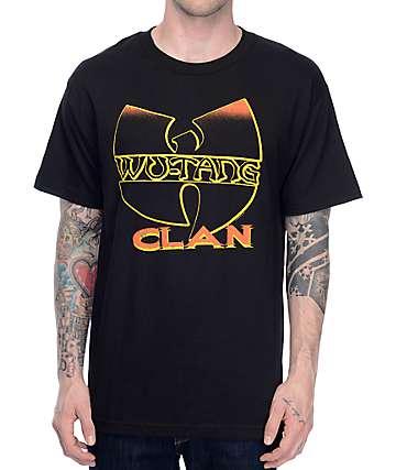 Wu-Tang Clan camiseta negra