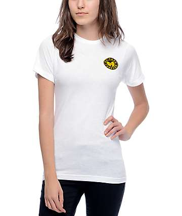 Wu-Tang Forever Embroidery White T-Shirt