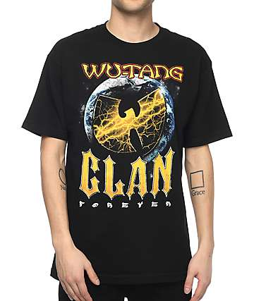 Wu-Tang Forever camiseta negra