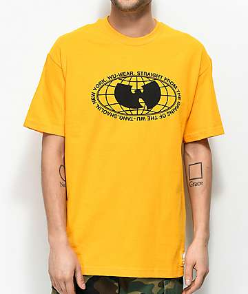 Wu Wear Straight From The Grains Gold T-Shirt