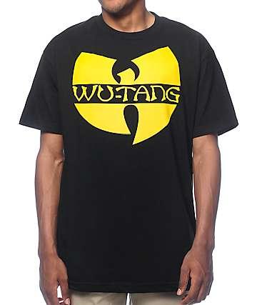 Wutang Logo Black T-Shirt