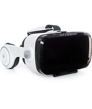 Xtreme Vue Virtual Reality Mobile Viewer With Headphones