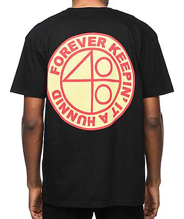 YG 4 Hunnid Acres Black T-Shirt
