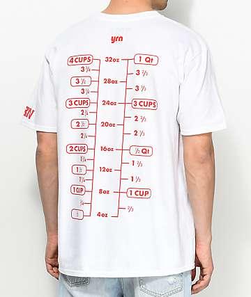 YRN 17.5 T-Shirt camiseta blanca