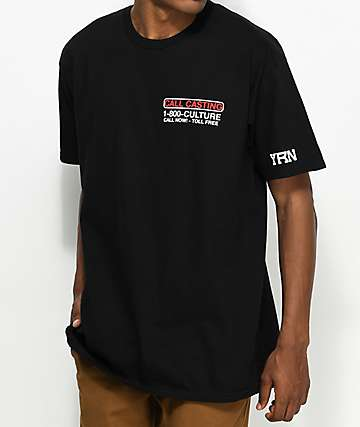 YRN Call Casting Black T-Shirt